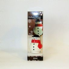 Christmas Reed Diffuser, Snowman, Pine